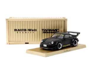 1/64 RWB 930 Matt Black Stella Artois Japan with Container Box