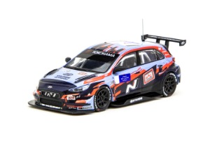 1/64 Hyundai i30 N TCR WTCR 2019 With decal, No. 1 Tarquini & No.5 Michelisz