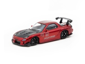 IG 1/64 Mazda RX-7 (FD3S) RE Amemiya Red Metallic