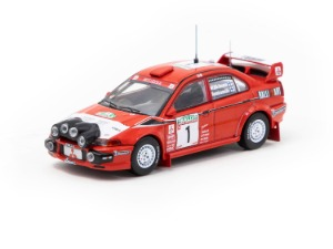 1/64 Mitsubishi Lancer Evolution VI WRC, New Zealand Rally 1999 Winner, Mäkinen / Mannisenmäki